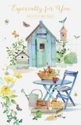 Garden Shed Birthday Card